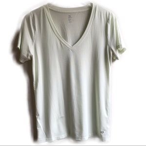 Gap Fit Breathe Short Sleeve V-Neck Active Top Tee